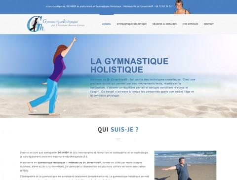 Gymnastique Holistique – Christiane Boutan-Laroze