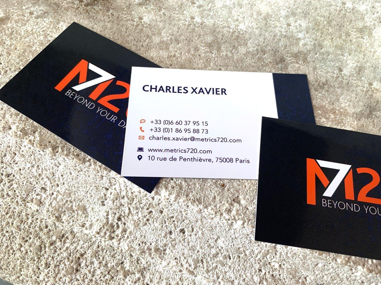M720 - Nouvelle identité - carte visite